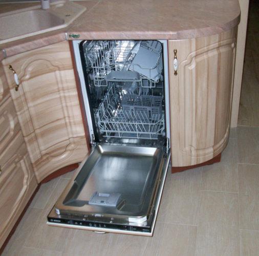 Установка посудомойки
